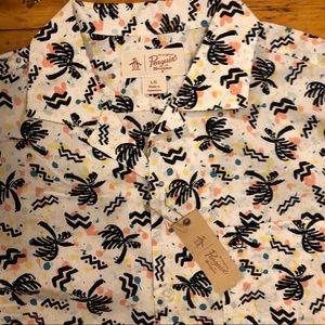 NEW men's penguin shirt
